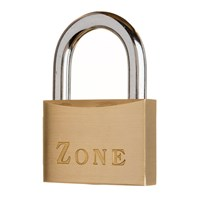10/60/KAL21/BR | ZONE 10 SERIES 60mm PADLOCK KA BOXED KEYED ALIKE TO KAL21