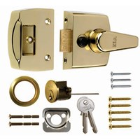 1630-32 | STANDARD NIGHTLATCH 60MM PB