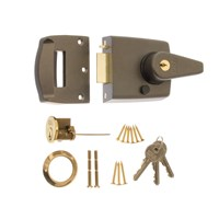 1630-52 | STANDARD NIGHTLATCH 60MM PB