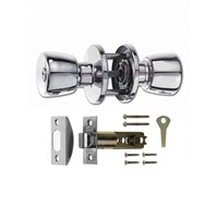 166-62 | PRIVACY KNOBSET ERA CHROME PLATED CARDED