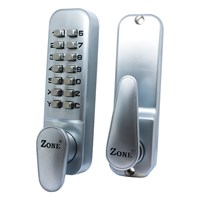 2100/SC/V | ZONE DIGITAL DOOR LOCK WITH HOLDBACK SATIN FINISH VISI