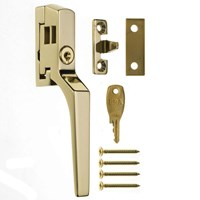 808-32 | LOCKABLE HANDLE BRASS EFFECT