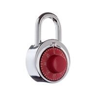 B01-RED | B01 TRI-CIRCLE COMBO PADLOCK