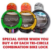 BLB01   TRI-CIRCLE BIKE LOCK BUNDLE