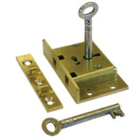 CL037 | 740 2.5  4L BRASS BOX LOCK