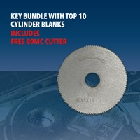 CW1329/OFFER | KEY BLANKS FREE CUTTER PACK