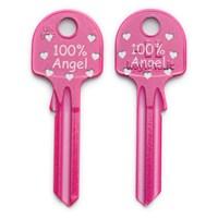F151 | KLFYUL2 100% ANGEL PINK HEARTS