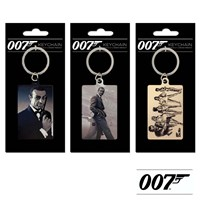GRP-007METAL | 007 JAMES BOND METAL KEY FOBS