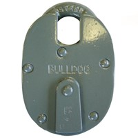 GRP-BULL233 | BULLDOG - 233 SERIES 5/6 LEVER CLOSED SHACKLE PADLOCK
