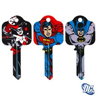 GRP-DCKB | DC COMICS LICENSED KEY BLANKS