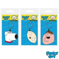 GRP-FAMILYGUY | FAMILY GUY PVC KEYRINGS
