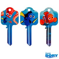 GRP-FINDINGDORYKB | FINDING DORY LICENSED KEY BLANKS