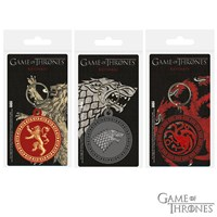 GRP-GAMEOFTHRONESPVC | GAME OF THRONES PVC KEYRINGS