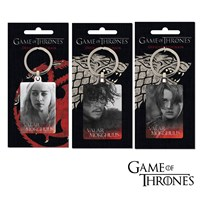 GRP-GOTMETAL | GAME OF THRONES METAL KEY FOBS RANGE