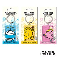GRP-MRMENMETALFOB | MR MEN AND LITTLE MISS LICENSED METAL KEY FOB RANGE