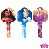 GRP-PRINCESSKB | DISNEY PRINCESS LICENSED KEY BLANKS