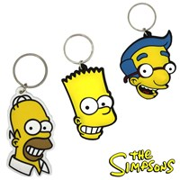 GRP-SIMPSONS | THE SIMPSONS PVC KEYRINGS