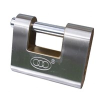 GRP-TRISHUTSTEEL | TRI-CIRCLE - STEEL COATED BRASS SHUTTER LOCK