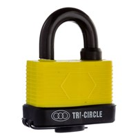 GRP-TRIWEATHER | TRI-CIRCLE - WEATHERPROOF PADLOCK