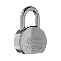 GRP-TRIZX | TRI-CIRCLE - ZX SERIES HARDENED STEEL PADLOCK