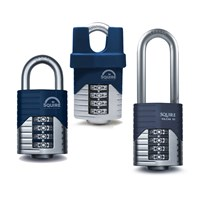 GRP-VULCANCOMBI50 | SQUIRE VULCAN COMBI 50MM 4 WHEEL DOUBLE LOCKING PADLOCK
