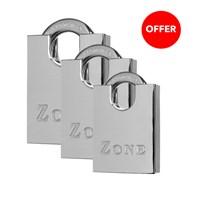 GRP-Z100 | ZONE 100 SERIES - BRASS CLOSED SHACKLE PADLOCK
