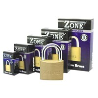 GRP-Z10BOXED | ZONE 10 SERIES BRASS PADLOCK - BOXED