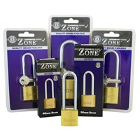 GRP-Z10LONGSHACKLE | ZONE 10 SERIES BRASS PADLOCK - LONG SHACKLE