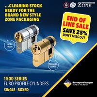 GRP-Z1500SB | ZONE 1500 SERIES - EURO SINGLE CYLINDER BOXED