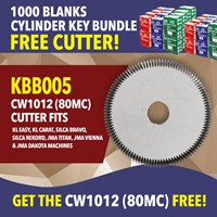 KBB005 | CYLINDER BLANK AND 80MC CUTTER OFFER