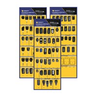 KBD058 | EMPTY REPLACEMENT KEY AND REMOTE SHELL DISPENSER BOARD SERIES