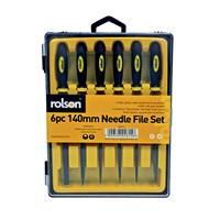 KCA029A | NEEDLE FILE SET 6 PIECE 140MM