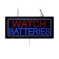 KCLS4 | WATCH BATTERIES LED SIGN