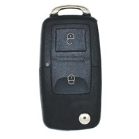 KD042 | VW STYLE FLIP 2 BUTTON REMOTE  for KEY DIY KD900 B SERIES REMOTE