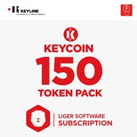 KEYCOIN150 | KEYCOIN LIGER SUBSCRIPTION 150 TOKEN PACK