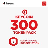 KEYCOIN300 | KEYCOIN LIGER SUBSCRIPTION 300 TOKEN PACK