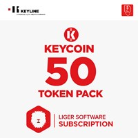 KEYCOIN50 | KEYCOIN LIGER SUBSCRIPTION 50 TOKEN PACK