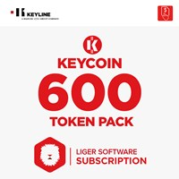 KEYCOIN600 | KEYCOIN LIGER SUBSCRIPTION 600 TOKEN PACK