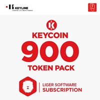 KEYCOIN900 | KEYCOIN LIGER SUBSCRIPTION 900 TOKEN PACK