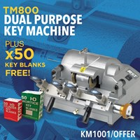 KM1001/OFFER | RST TM800 DUAL MACHINE & 50 FREE BLANKS OFFERS