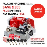 KMB003/OFFER | FALCON TIBBE FREE BLANKS OFFER