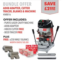 KMB016 | PUNTO YALE SUPERIOR AND PLATINUM AD08 ADAPTER, CUTTERS, MACHINE OFFER