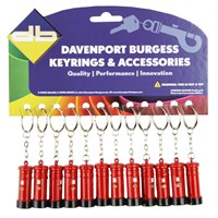 KRA1429 | POST BOX KEYRING (CARD OF 12)