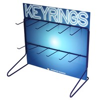 KRA1534 | DB KEYRINGS COUNTER TOP DISPLAY STAND