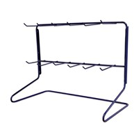 KRA1652 | 12 HOOK WIRE FRAME EMPTY COUNTER TOP DISPLAY STAND