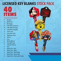 KRA1800/A2 | LICENSED KEY BLANKS STOCK PACK 40 BLANKS INCLUDED