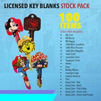 KRA1800/A5 | LICENSED KEY BLANKS STOCK PACK 100 BLANKS INCLUDED