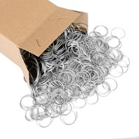 KRA215A | BOX OF 1000 WIRE JUMP RINGS