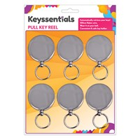 KRA267 | KEY REELS (CARD OF 6)