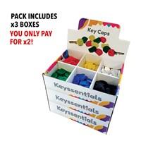 KRA304/OFFER | CAP1 KEY CAPS - BUY 2 BOXES GET 1 FREE